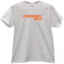 CHERNOBYL CHILD T-shirt in gray