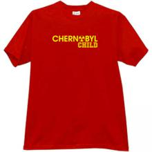 CHERNOBYL CHILD T-shirt in red