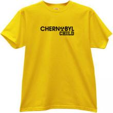 CHERNOBYL CHILD T-shirt in yellow