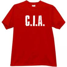 C.I.A. Cool T-shirt in red