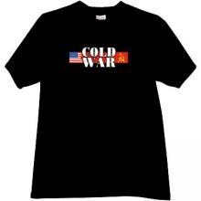 Cold War USA vs USSR  T-shirt in black