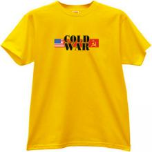 Cold War USA vs USSR  T-shirt in yellow