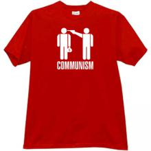 Communism - kill the rich T-shirt in red