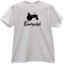 Countrystyle Funny T-shirt in gray