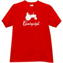 Countrystyle Funny T-shirt in red