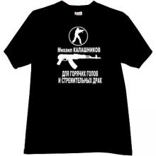 Kalashnikov Counter Strike T-shirt in black