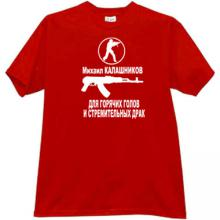 Kalashnikov Counter Strike T-shirt in red