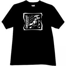 Dissent is Patriotic Cool T-shirt in black