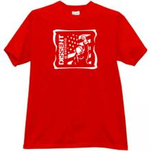 Dissent is Patriotic Cool T-shirt in red