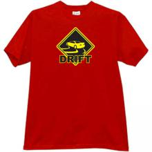 DRIFT T-shirt in red