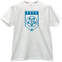 Dynamo Moskwa Football Club T-shirt in white