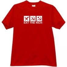 Eat the Rich Funny T-shirt