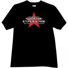 Cocaine Experience Pablo Escobar Cool Mafia T-shirt in black