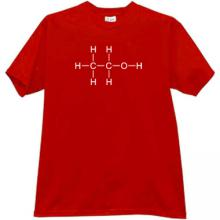 Ethanol T-shirt in red