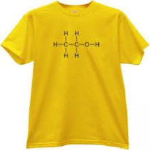 Ethanol T-shirt in yellow