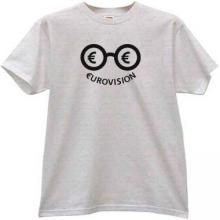 Eurovision Funny t-shirt in gray