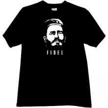 FIDEL Revolutionary T-shirt in black
