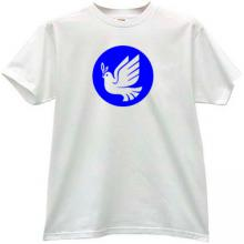 Fight for Peace T-shirt in white