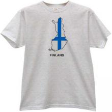 Finland T-shirt in gray