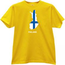 Finland T-shirt in yellow