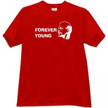 Forever Young (Lenin) Cool Leader T-shirt in red