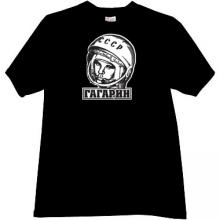 GAGARIN - first Russian Cosmonaut T-shirt in black