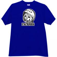 GAGARIN - first Russian Cosmonaut T-shirt in blue