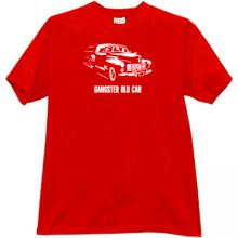 Gangster Old Car T-shirt in red