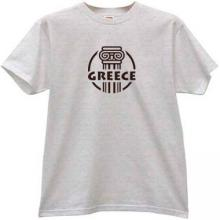 Greece T-shirt in gray