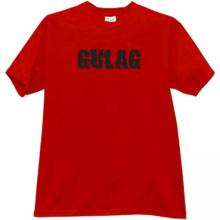 GULAG T-shirt in red
