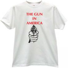 The Gun in America T-shirt