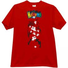Halloween T-shirt in red II