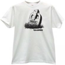 Halloween 2013 T-shirt in white