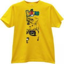 Halloween T-shirt in yellow