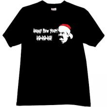 Happy New Year Funny Stalin T-shirt