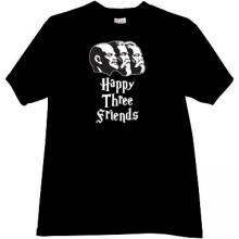 Lenin, Marks, Engels - Happy Three Friends Funny T-shirt