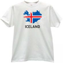 Iceland T-shirt in white