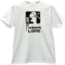 Information Libre Cool T-shirt