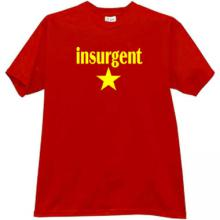 INSURGENT emo T-shirt in red