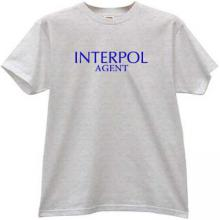 Interpol Agent Cool T-shirt in gray
