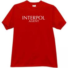Interpol Agent Cool T-shirt in red