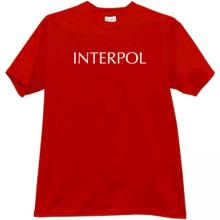 INTERPOL - International Criminal Police Organization T-shirt r