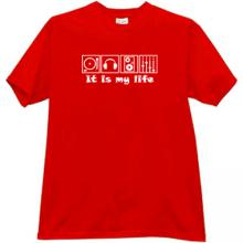 It is My Life Cool DJ T-shirt