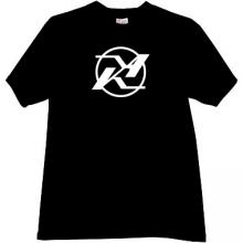 KA - Kamov Logo Russian Helicopter Design Bureau T-shirt in b