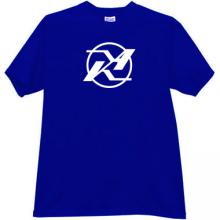 KA - Kamov Logo Russian Helicopter Design Bureau T-shirt in bl