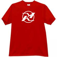 KA - Kamov Logo Russian Helicopter Design Bureau T-shirt in r