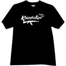 KALASHNIKOV TEAM AK-47 T-shirt in black