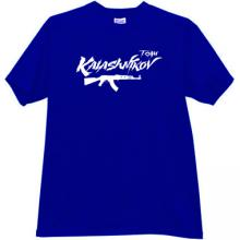 KALASHNIKOV TEAM AK-47 T-shirt in blue