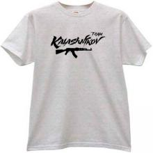 KALASHNIKOV TEAM AK-47 T-shirt in gray