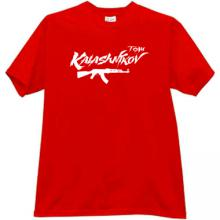 KALASHNIKOV TEAM AK-47 T-shirt in red